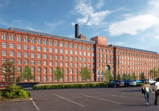 Meadow Mill outdoor residential property in Stockport